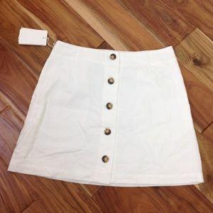 Wilfred - Lachlan Linen Skirt